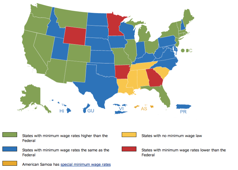 minimum wage map medium
