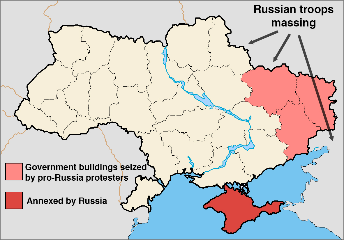 Map Of Russia and Ukraine My blog