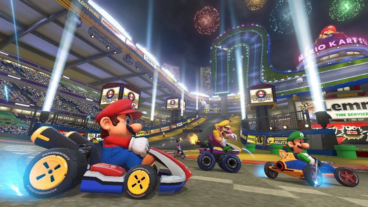 What are some different ways to play Super Mario Kart games?