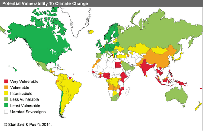 One Big Winner In The USChina Climate Deal The Global Poor Vox - Us china map