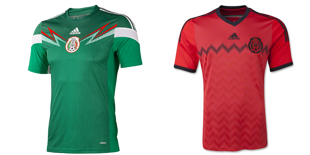 The home and away shirts feature zig-zag designs that unfortunately don t  scream