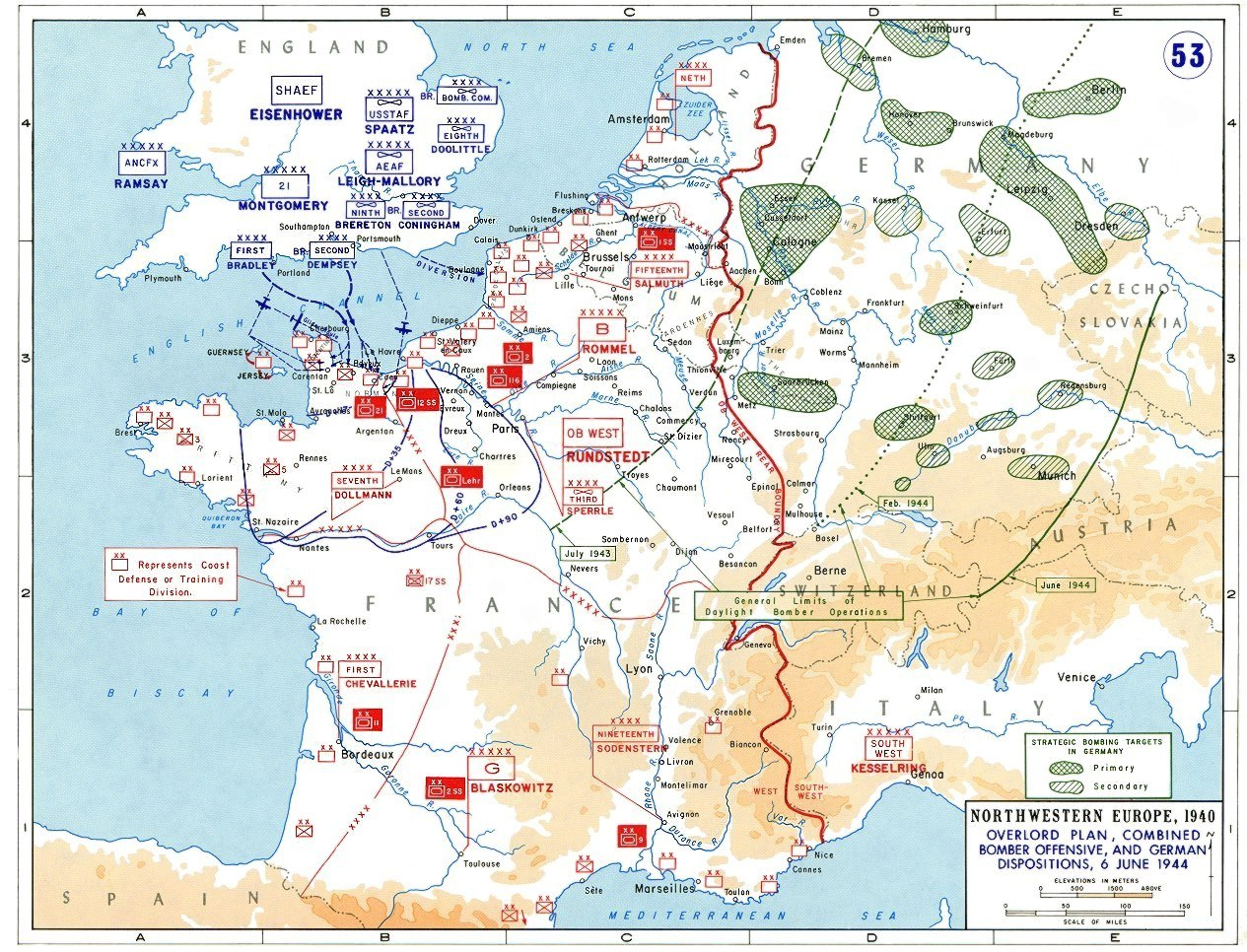 The story of D Day, in five maps   Vox