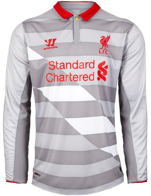 release date 7e0ce b2350 Liverpool's 2014/15 third kit is the most Warrior kit to ...