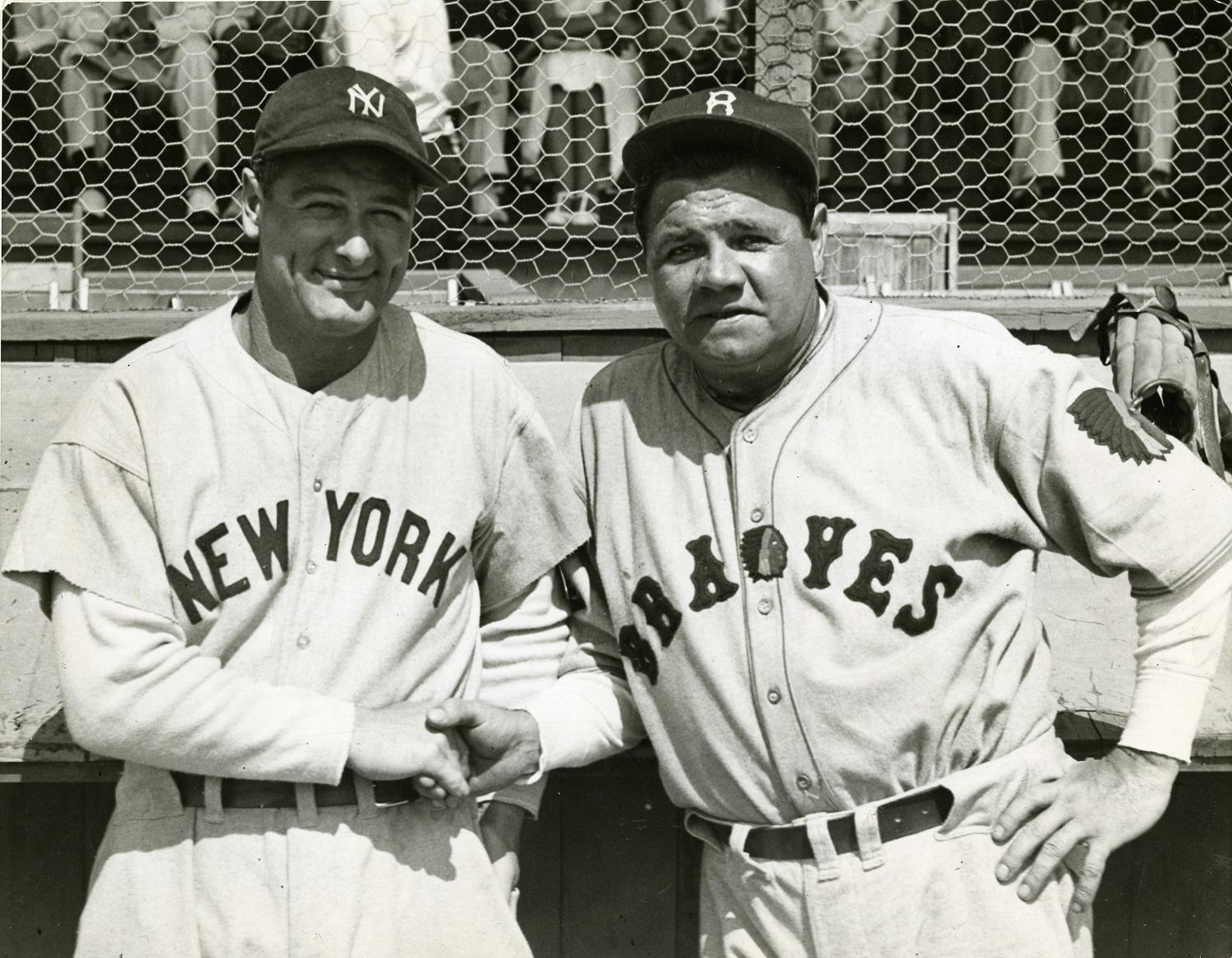 Baseball   Babe Ruth   Images   PSA AutographFacts    Professional Sports Authenticator Ruth also famously delivered for young Johnny Sylvester  who recovered from  his ilness after The