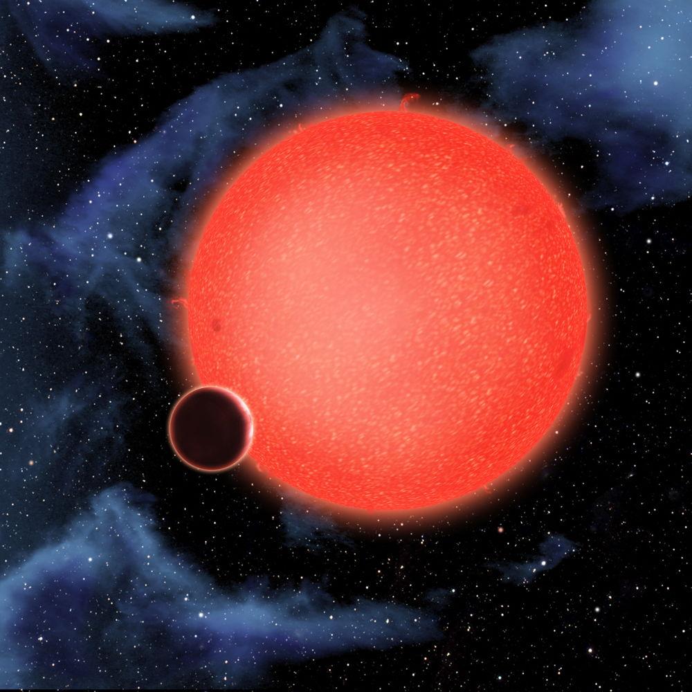 Exoplanet-gj-1214b
