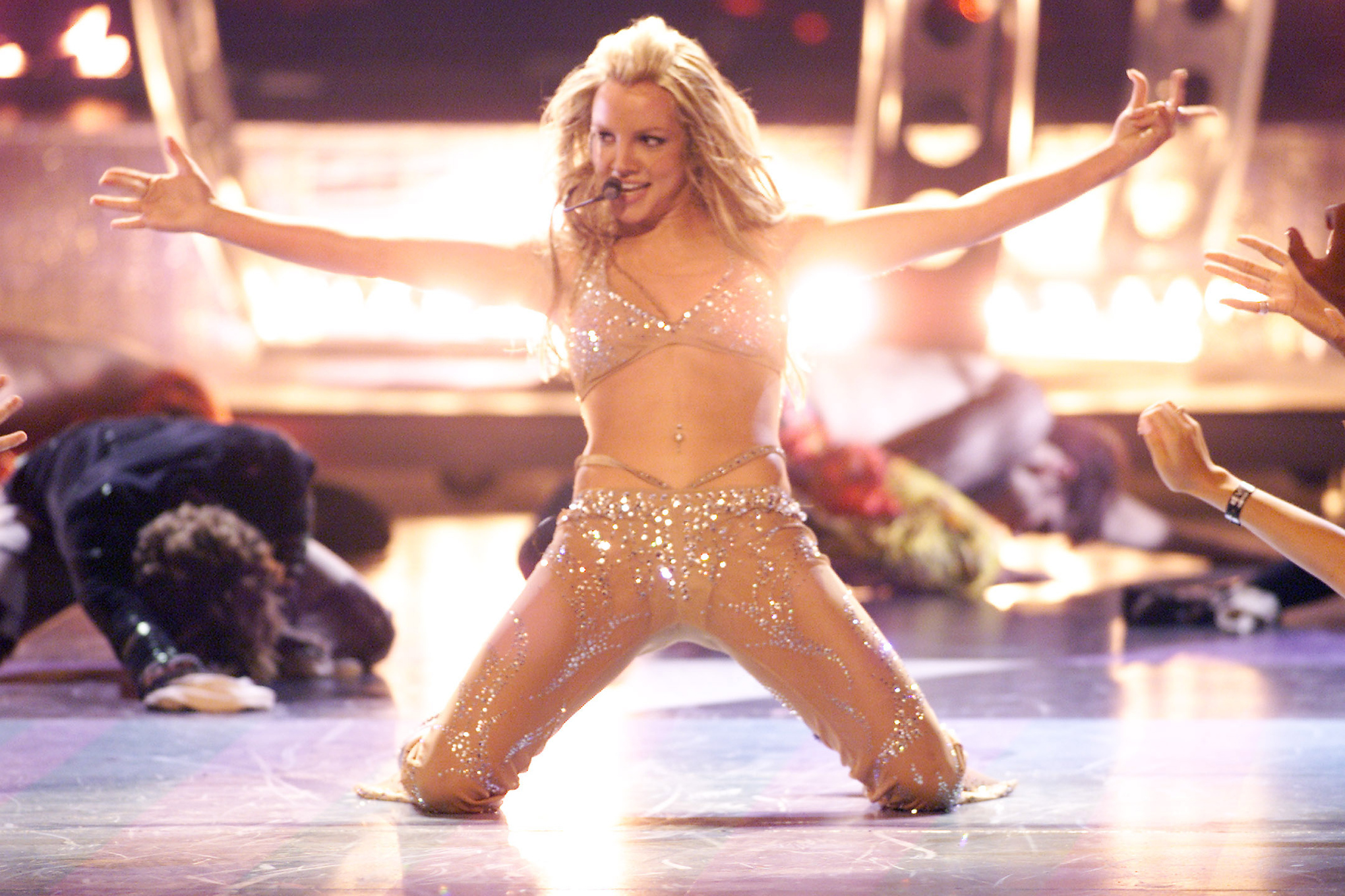 Britney Spears is a pop queen. And pop queens don't need ...