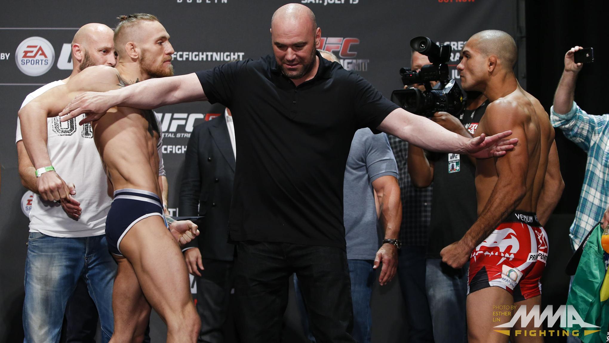 Conor McGregor vs. Diego Brand...