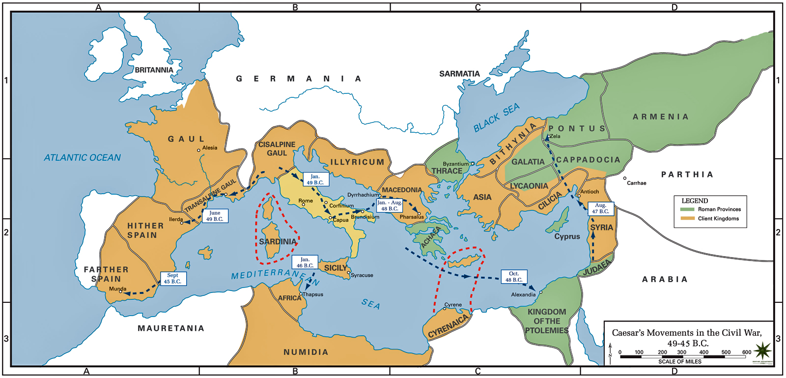 Maps That Explain The Roman Empire Vox - Pictures of maps
