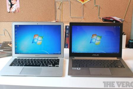 MacBook Air Win 7 lead