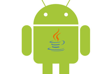 Android with Java logo comp