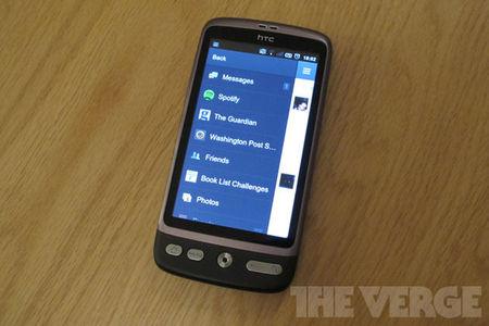 Facebook mobile social sharing apps