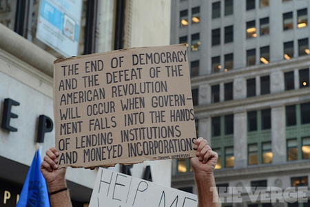 Gallery Photo: Occupy Wall Street's one year anniversary