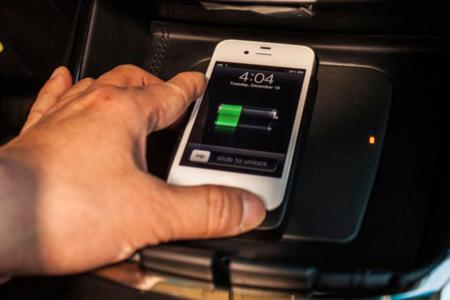 Qi car charging