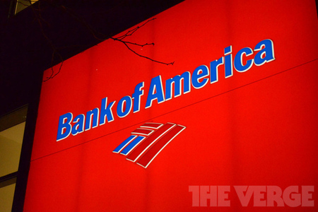 Bank of America stock logo (1020)