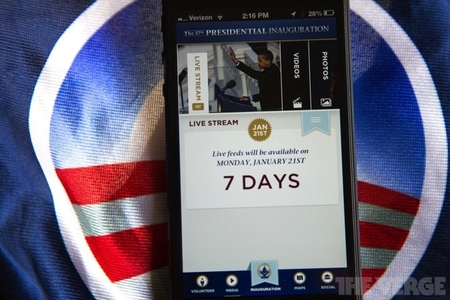 2013 Inauguration app