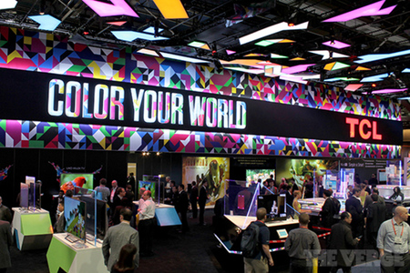 TCL booth CES 2013