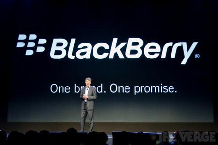 BlackBerry RIM Thorsten Heins one brand