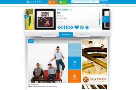 Gallery Photo: Slacker 2013 redesign screenshots