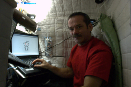 chris hadfield reddit
