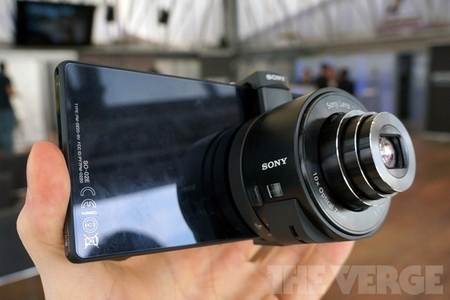 Sony QX100 lens camera (verge stock)