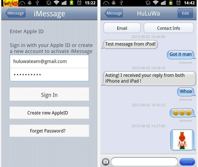 iMessage for Android looks like a great way to compromise your ...