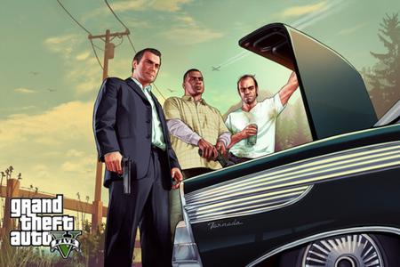 Grand Theft Auto V trunk stock