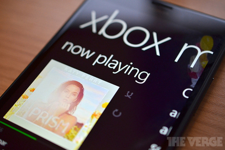 Xbox Music Windows Phone 8