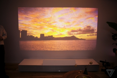 Gallery Photo: Demonstration of Sony's Life Space UX projector