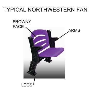 Northwestern-fan
