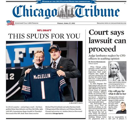 Chicago-tribune-mcclellin-headline