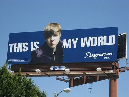 Bieber-is-a-dodgers-fan