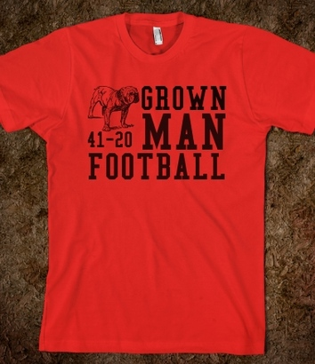 Grown-man-football.american-apparel-unisex-fitted-tee.red.w380h440z1