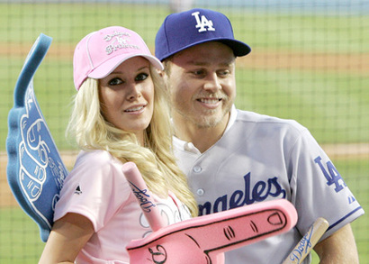 Heidi-spencer-dodgers-game