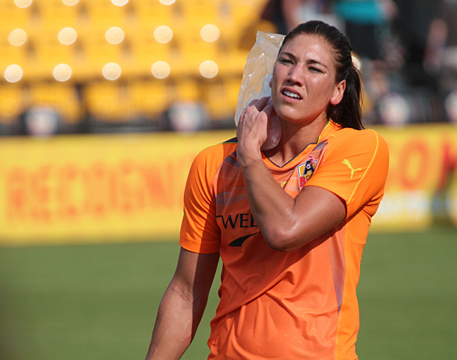 Hope Solo injury