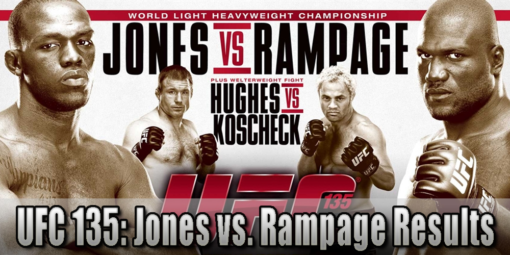UFC 135 results and LIVE fight...