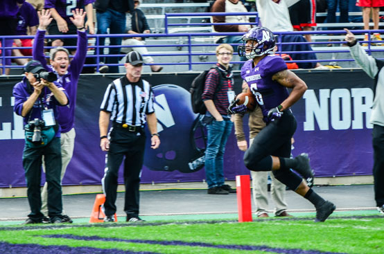"""Many are calling Northwestern's game against Ohio State the """"biggest"""" of Pat Fitzgerald's coaching tenure (Samson Fong/InsideNU)"""