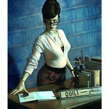0000-4734-4pin-up-girl-quiet-please-librarian-posters