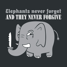 Elephants-never-forget