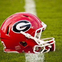 University-of-georgia-georgia-bulldogs-football-helmet