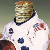 Pancake-astronaut