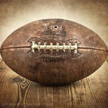 Vintage-football-print