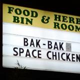 Bakbakspacechicken