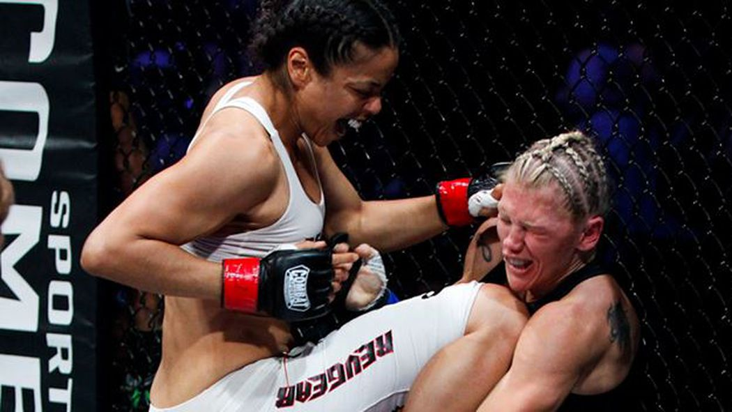 2013 Bloody Elbow WMMA Awards Results: Best Knockout - Bloody Elbow