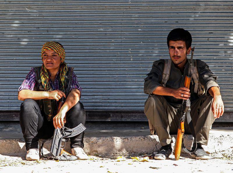 kurdish fighters kobane