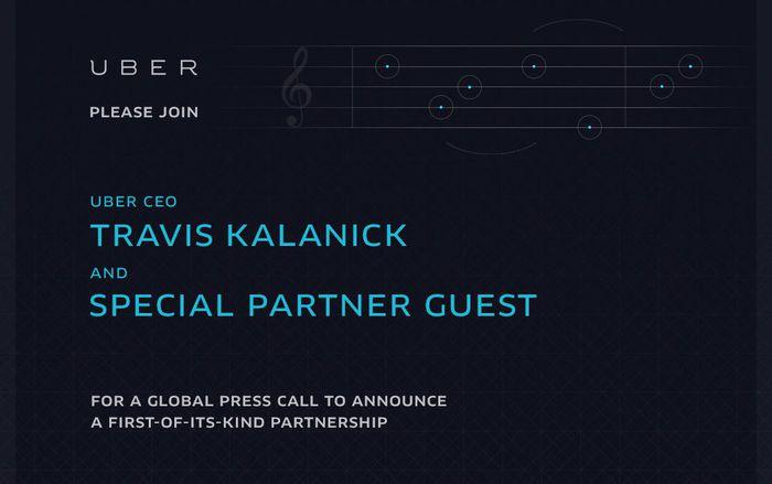 uber Spotify invite