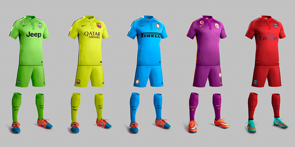 Speaking about the new kits, Martin Lotti, Nike Football's Creative ...