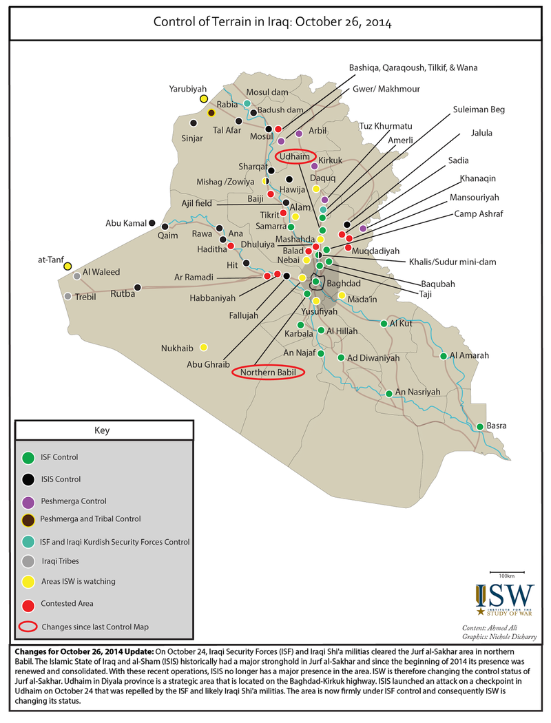 iraq situation ISW 10.28