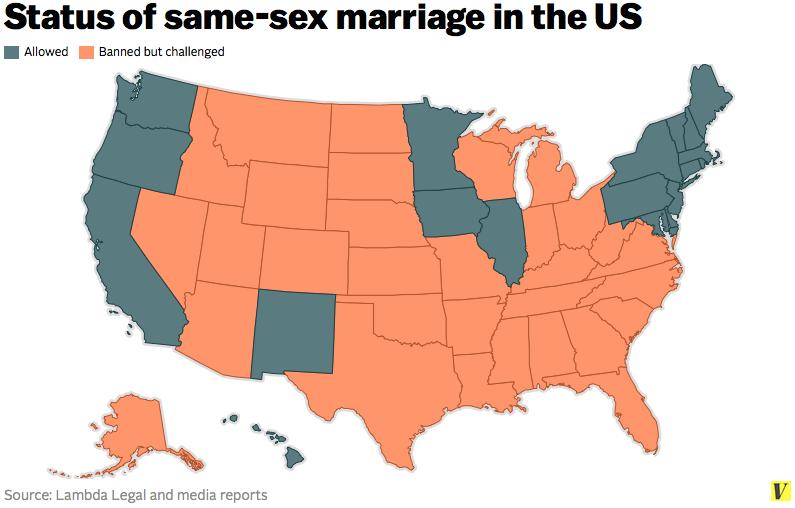 Status Of Same Sex Marriage 114