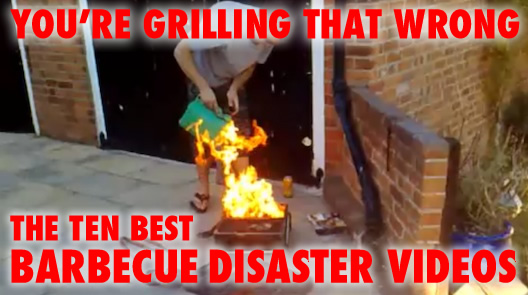 image A barbecue gone wrong