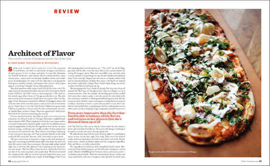 Saveur launches restaurant reviews james oseland explains